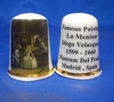 Birchcroft Thimble -- Famous Paintings - La Meninas by Velazquez -- Free Box