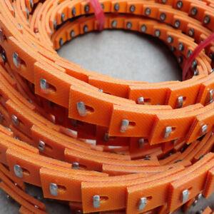 """Power Twist Drive T-Nut Belt adjustable Link V-Belt A13/4L,1/2"""" Length: 5FT/1.5M"""