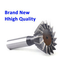 New listing 50mm 55 Degree High Speed Steel Dovetail Cutter End Mill Bit Router 16 Blades Us