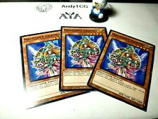 3X MAGICIAN'S VALKYRIA - 1ST ED COMMON NM LDK2-ENY17 - YUGIOH