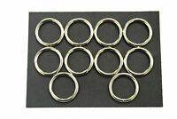 x1,x2,x5,x10 Welded O-Ring 4mm Nickel 20mm,25mm Webbing,Bag,Strap,Dog Leads,Rugs