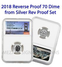 2018 Dime from Silver Reverse Proof 50th Anv Set Early Releases Reverse PF70