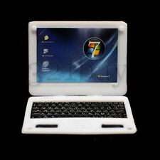 Miniatur Laptop Computer Zubehör Puppenhaus Puppenhaus Dekoration Miniaturen