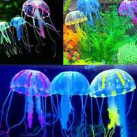 Glowing Effect Fish Tank Home Decor Aquarium Artificial Silicone Vivid Jellyfish