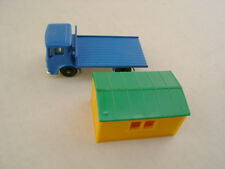 MATCHBOX LESNEY #60B TRUCK WITH SITE OFFICE  BPW-R/A WITH ORIGINAL BOX