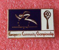 Pins E.C.C. European Community Championship ANVERS 91 Antwerpen