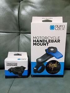 Quad Lock Motorcycle Handlebar Mount w/ Vibration Dampener (NEW) #FASTSHIPPING