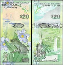 Bermuda 20 Dollars Banknote, 2009, P-60, UNC