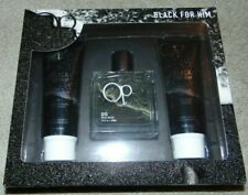 ~NWB OP BLACK FOR HIM Gift Set! Shampoo, Body Wash & Toilette Nice FS:)~