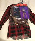 Totally Ghoul Creepy DREADED SCARECROW Child Boy Youth L Large Halloween Costume