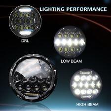 "1x 7"" Motorcycle LED Headlight For Kawasaki VN Vulcan 500 750 800 900 1500 1600"