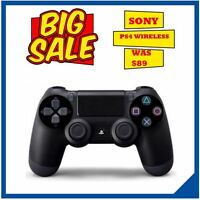 NEW Playstation 4 Controller DualShock Wireless Bluetooth for Sony PS4 Jet Black