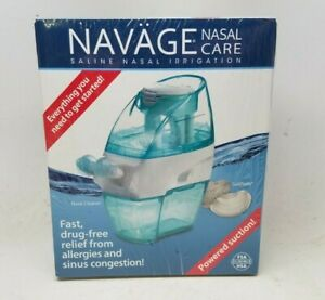 NAVAGE Nasal Care Saline Nasal Irrigation Powered Suction