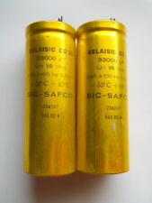 2 x 33000uF @ 16Vcc SIC-SAFCO RELAISIC CO35