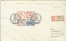 Germany Olympische Spiele Olympic Games 1936 Olympic sheet on R cover Stadion