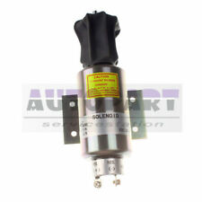Run-ON Stop solenoid 04400-08801 for Mitsubishi S12R Series Engine Genset 24V