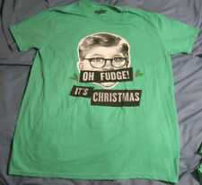 A Christmas Story Ralphie Oh Fudge! It'S Christmas Graphic Tee Men's L (42-44)