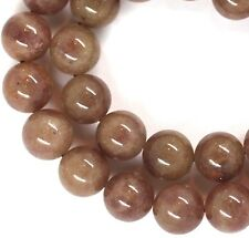 "15.5"" SPARKLY NATURAL Muscovite Round ~33 Beads 12mm K7008"