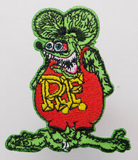 """""""RAT FINK"""" Hot-Rod Character Iron-On Embroidered Patch - MIX 'N' MATCH - #1U15"""