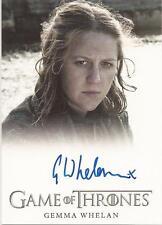 "Game of Thrones Season 3 - Gemma Whelan ""Yara Greyjoy"" Autograph Card"
