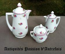 B20121127 - 3 pièces en porcelaine de Baudour - Defuisseaux cachet 1898-1927