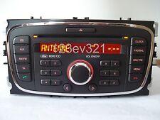 Ford Radio 6000CD schwarz Focus, Galaxy, S-Max, Mondeo, Transit Connect/Tourneo