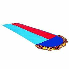 Banzai 16 Foot Speed Blast Dual Racing Water Slide With Spray Splash Pool and