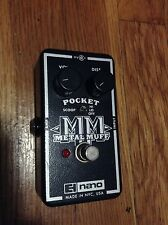 Electro-Harmonix Metal Muff Distortion Guitar Effect Pedal