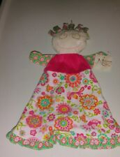 Maison Chic Doll Floral Cloth Puppet Mollie 3 in 1 Rattle Security Blanket Baby
