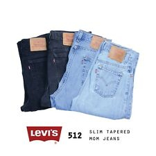 VINTAGE LEVIS 512 HIGH WAISTED WOMENS SLIM TAPERED MOM JEANS 26 27 28 29 30 31 3