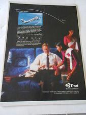 Publicité 1988 Thai Airways International LTD  AD