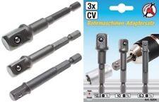 Kraftmann 8204 Adaptersatz für Bohrmaschinen 6,3-10-12,5mm