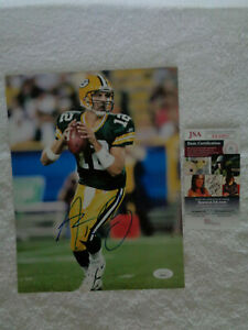 Aaron Rodgers  Packers SIGNED 8x10 photo JSA COA