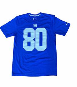 Nike NFL New York Giants Victor Cruz Men's T-Shirt Blue Short Sleeve Size M NEW
