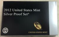 2012-S US MINT SILVER PROOF SET - Complete w/ Original Box and COA