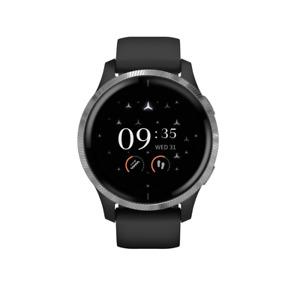 Mercedes Benz Original Men's Fitness Smart Watch Garmin Venu Black Silver New