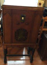 RP2709 Vtg DeForest Crosley Rondo Console Lowboy Tube AM Radio 1931