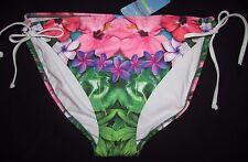 Taglia 20 donna bikini bianco e vari colori stampa Multi floreale Marks &