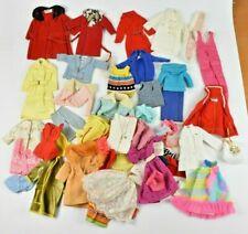 Vintage Barbie Clothes Lot of 50 Blouses Dresses Pants Sweaters Skipper Francie
