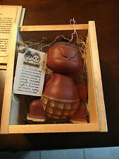 Mitaisho Mimushi Hand Crafted Wooden Sumo Wrestler Warrior