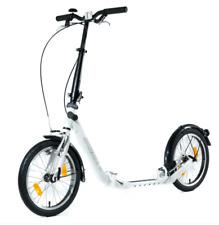 """faltbarer Roller Kickbike Clix Klapproller Faltroller weiß 16"""" Klappscooter"""