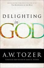 Delighting in God by A. W Tozer (2015, Paperback)