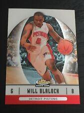 2006-07 Finest WILL BLALOCK RC #61 basketball card ~ Detroit Pistons rookie ~ F1