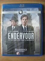 PBS Masterpiece Mystery! ENDEAVOUR The Complete Fourth Season Blue Ray Brand New