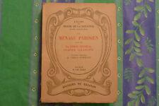 LE MÉNAGE PARISIEN SUIVI DE ... / RESTIF DE LA BRETONNE  / TOME V  / 1931