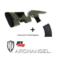 ProMag Archangel Mosin Nagant Stock AA9130-OD Green + 10RD Magazine