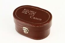 """Canon Lens Case """"MINT""""For Canon 35mm F2.8 chrome LTM39, From Japan#4"""