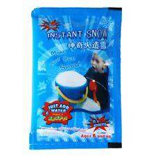 5x Packs Magic Snow Instant Artificial Fake Powder Kids Fun Christmas Decoration