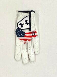 Under Armour Boys' Youth CoolSwitch Golf Glove White - NWOT ( S )