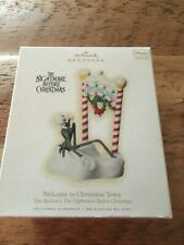 Hallmark Ornament 2009 Welcome to Christmas Town The Nightmare Before Christmas